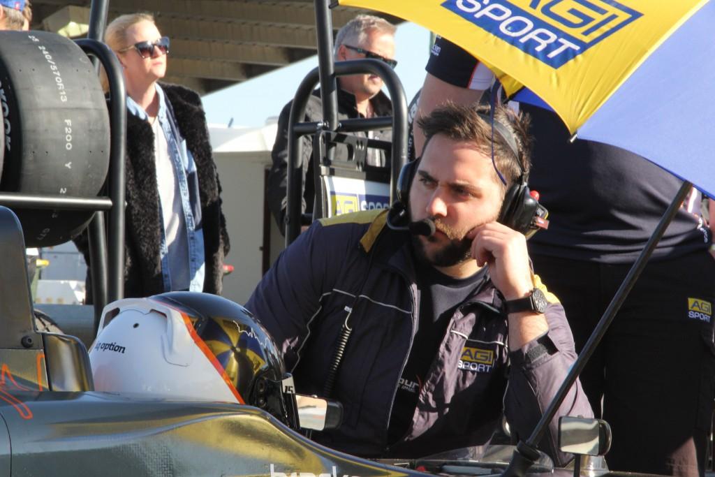 Chris Doumbos - Race Engineer