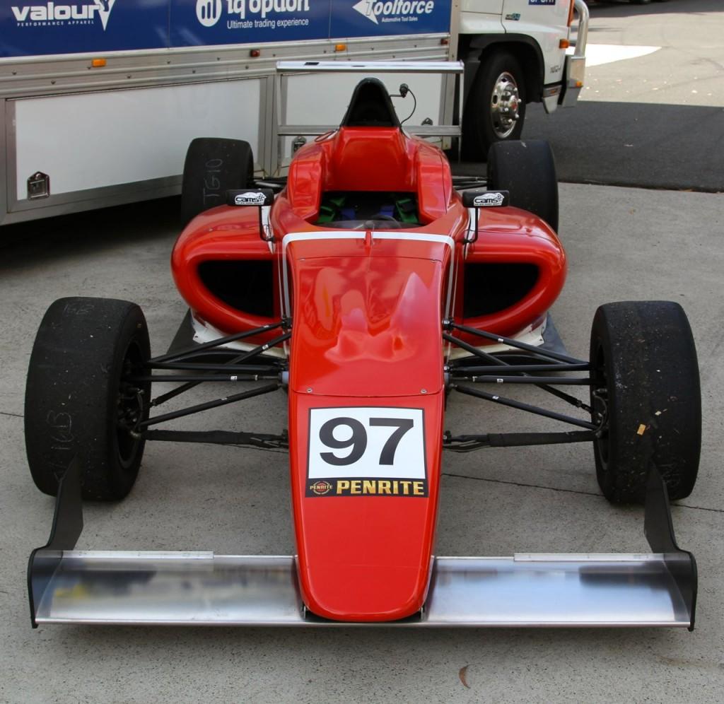 Nick Rowe F4 car