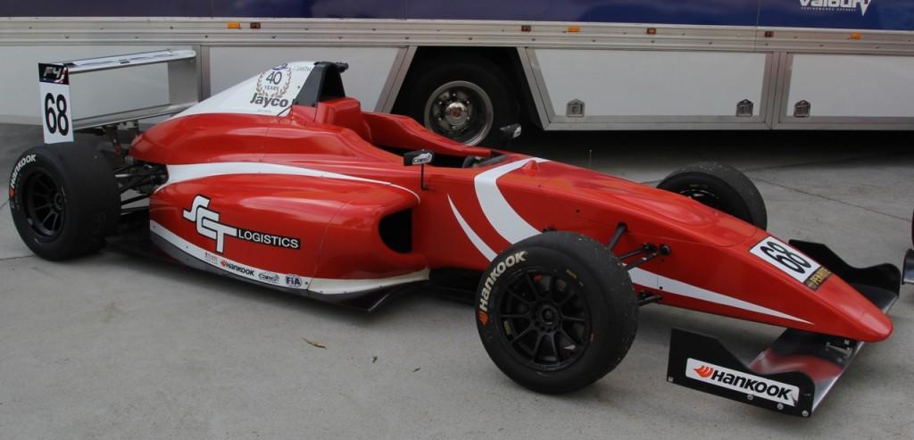Jack Smith F4 car