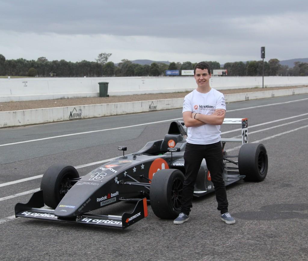Tom Grech IQ Option Racing