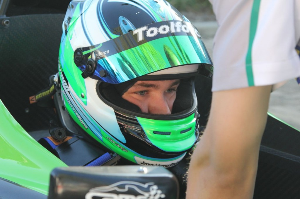Jimmy Vernon Formula 4