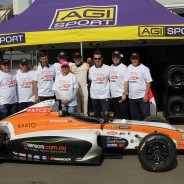 PRESS RELEASE – Ojeda wins – AGI Sport claims back-to-back Formula 4 Championships