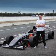 Formula 4 driver Tom Grech